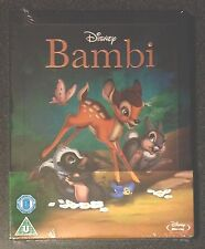 Disney BAMBI Blu-Ray SteelBook Zavvi UK Exclusive Region Free. New OOP & Rare!