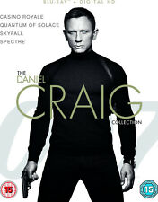 The Daniel Craig Collection - James Bond [Blu-ray] NEW!!
