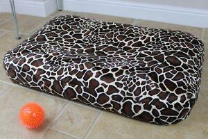 Large Dog Bed, Luxury Bean Bag, Washable Cushion Pet Bed, Warm Dog Mattress, UK