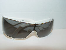 Used D&G Dolce&Gabbana White 6021-B Sunglasses Frames 62/87 125 3N With Stones