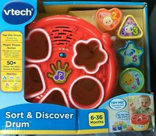 Vtech Sort & Discover Drum YELLOW Toys Games - NEW