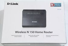 D-Link DIR-300 4-Port Lan Wireless N Home Broadband Router,Firewall,WPA WiFi NEW