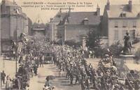CPA 45 MONTARGIS CONCOURS DE PECHE A LA LIGNE ORGANISE PAR LE PETIT JOURNAL 1907