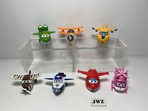 Mini Super Wings Toy Bundle plastic Transforming - x7