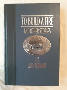 To Build a Fire and Other Stories by Jack London (1994, Hardcover) w/Pamphlet