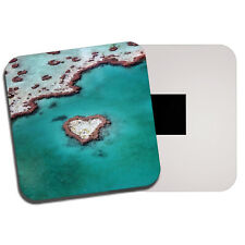Heart Reef Fridge Magnet - Australia Great Barrier Ocean Sea Cool Gift #13151