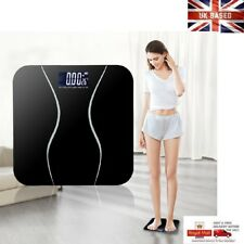 Digital Compact Electronic Bathroom Scale Toughened Glass, Measure Body Weight