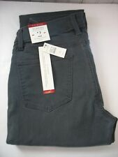 NWT Talbots 5 Pocket Flawless Straight Slimming GREY gray Blue Jeans Size 2 $89