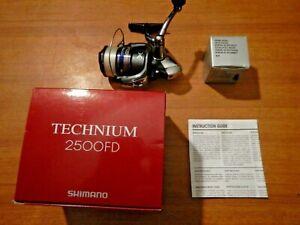 MULINELLO SHIMANO TECHNIUM 2500FD - DOPPIA BOBINA - USATO OTTIMO STATO !