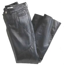 Harley Davidson Highland Contoured Low Rise Boot Cut Leather Pants 98065-13VW 8