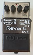 Boss Reverb RV-6 Hallpedal für E-Gitarre (wie neu) OVP