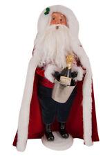 Byers Choice 40th Anniversary Celebration Santa Christmas Caroler