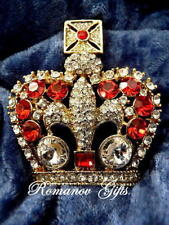 British Imperial State Crown of Queen Victoria set with Ruby and Diamond crystal