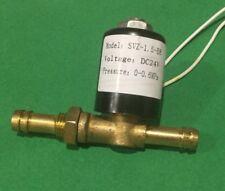 Gas Flow Solenoid Valve for Welding/Welder DC24V 8mm Hose MIG TIG