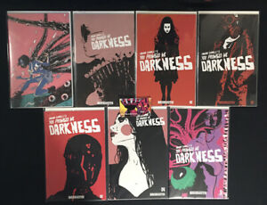You Promised Me Darkness (2021) #1F, 2A-C, 3A, 4C, 5C Complete Set Behemoth