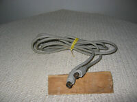 Vintage Apple Macintosh 590-0552-A Mini Din 8 Male to Male Cable 6 ft