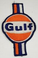 Gulf GAS & OIL Advertising Embroidered Patch Vintage