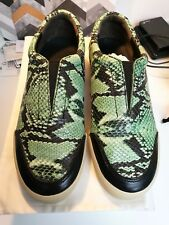 NEW IN BOX Philip Lim pashli Morgan python leather sneakers sz38 /UK5 RRP£495