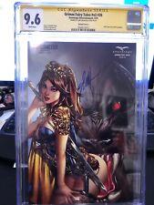 Grimm Fairy Tales #26 1/250 EBAS CGC 9.6 Gold Signature VIP Comic Fest NM Rare