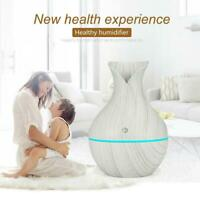 Essential Aroma Led Oil Diffuser Ultrasonic Aromatherapy Air Humidifier Purifier