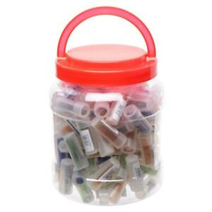 Glass Roach Rolling Tips Heat Resistant Flat Or Round Reusable Hygienic 3.5CM