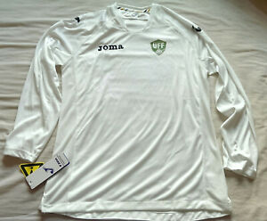 Rare Uzbekistan 2013 Home Football Shirt by Joma