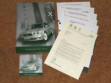 2001 JAGUAR X-TYPE 2 LITRE V6 MEDIA PACK with Information & DVD - Sport SE