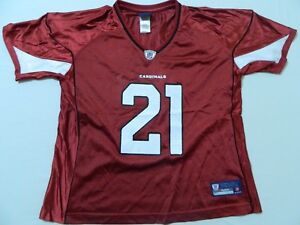 FLAWED New REEBOK Arizona Cardinals Patrick Peterson Jersey WOMEN'S XL
