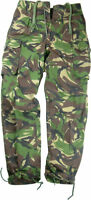 Genuine EX British Army soldier 95 woodland camouflage Combat cargo tousers