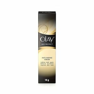 2x Olay Age Protect  Anti-Ageing Cream For Dark Spots Wrinkles & Skin Tone-18 gm