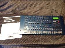 Korg Ms2000r Virtual analog synthesizer