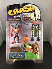 Crash Bandicoot Jet Pack Action Figure (New in box)