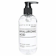 Pure Hyaluronic Acid Serum Anti-Aging Wrinkle For Face Collagen 8oz Bottle