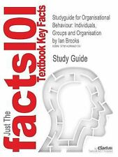 Studyguide for Organisational Behaviour: Individuals, Groups and Organisation by