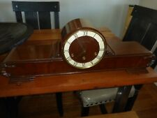 Antique Large Rare French Vedette Sonnerie Westminster Chime Art Deco Clock