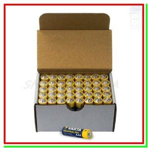 batterie ministilo aaa alcaline VARTA industrial pro scadenza 2029 pile x40