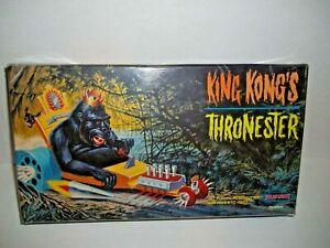 Plastic Sealed Polar Lights King Kong Thronester Model Kit #5016 Made in 1998