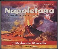 "ROBERTO MUROLO - RARO 2 CD FUORI CATALOGO "" NAPOLETANA VOL.2 """