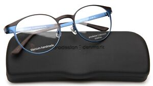NEW Prodesign Denmark 1428 c.6121 Black Blue EYEGLASSES GLASSES 51-20-140mm