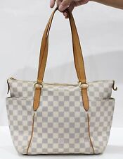 Used Authentic Louis Vuitton LV Bag Monogram Totally PM Damier Azur 916