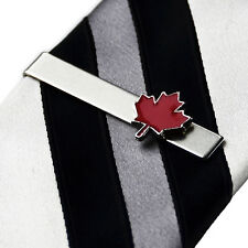 Canada Tie Clip - Tie Bar - Tie Clasp - Business Gift - Handmade - Gift Box
