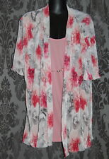 Womens size 18 pretty all in one jacket and blouse made by MILLERS