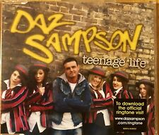 Eurovision UNITED KINGDOM 2006 DAZ SAMPSON Teenage Life CD single