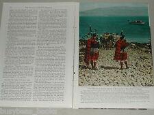 1952 magazine article, Skye Week, Highland Games, Scotland