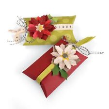 Sizzix pilllow BOX & Poinsettia Thinlits muore 660660