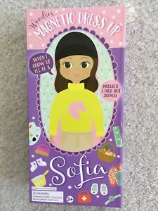 Disney Sofia's Dress-Up Magnetic Wooden Dress-Up Doll (Not Complete)