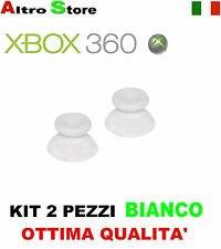 JOYSTICK ANALOGICO CONTROLLER JOYPAD THUMBSTICKS XBOX 360 BIANCO RICAMBIO GIOCO