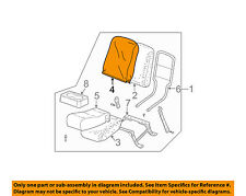 GM OEM Front Seat-Cushion Cover-Top Back 89043681