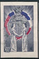 FRANCE - Poste aérienne - Alliance US-FR- 500Fr violet NON EMIS