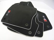 Audi S3 Textile Carpet Black Floor Mat Set 4 Mats 8V5061270 MNO